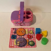 Fisher Price Laugh and Learn Sweet Sounds Picnic Basket Complete Shape Sorter  - $19.99