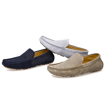 Loafers Vintage Men Sale Breathable Shoes Summer Man VMUKSAN Casual Fashion Hot UzSOwx7n0