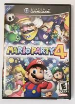 Mario Party 4 Four 2002 GameCube Video Game CIB Complete - $54.40