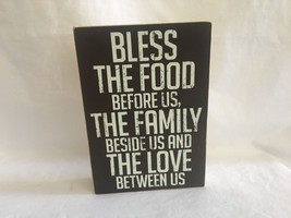 Classic Thanksgiving Holiday Decor Mantle Table Wall Decoration Sign Plaque - $14.99