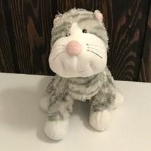"Ganz Webkinz Sterling Cheeky Cat 8"" Plush Stuffed Animal Beanie No Code - $11.04"