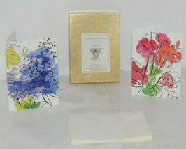 Caspari 88610 46 Abstract Floral 8 Assorted Boxed Notes With Envelopes image 1