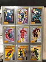 1991 DC Comics Hero Heritage Series I Complete 180 Trading Cards Set - $20.58