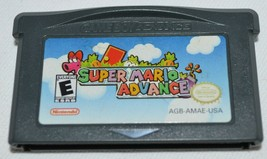 Super Mario Advance Nintendo Game Boy Advance Cart Only - $30.78 CAD