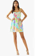 NWT Lilly Pulitzer Multi Lovers Coral 100% Cotton Ardleigh Dress, Size 6... - $94.82