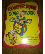 VTG 1966 1st Edition Romper Room Song Book Hardcover Book Songbook 60s D... - $16.10