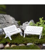 3pcs Small chair Miniature chair Mini chair mini houses,mini garden,arch... - £7.00 GBP