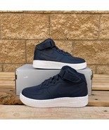 NIKE Air Force 1 Mid GS 'Obsidian' KID'S CLASSIC ATHLETIC SNEAKER 314195... - $107.53