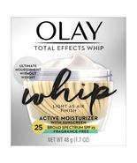 Olay Total Effects Whip Active Moisturizer 1.7 OZ - SPF 25 - Fragrance Free - $16.29