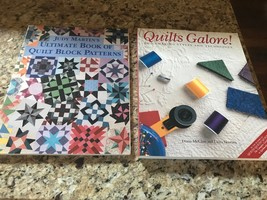 VINTAGE Quilting Books  by Judy Martin (autographed) and Diana McClun - $14.85