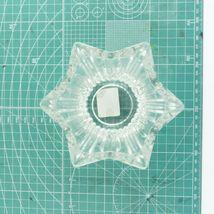 "VTG Mikasa Japan Votive 5"" Six Sided Tealight Candle Holder Key Glass Decorative image 6"
