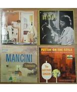 Record Album Qty 4 Mancini Steven Bishop REO Speedwagon Gateway Singers - $17.53