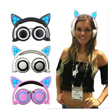 Cute Cat Ear Headphones - $14.55