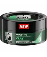 Schwarzkopf Taft Looks Molding Clay for Hair Level 6 Ultra Strong Fixing... - $11.87