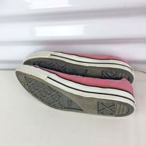Pink Converse Woman 6 All Stars Low Top Hipster Shoes Canvas image 3
