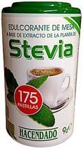 Quality Stevia Sweetener 175 Tablets Sugar Substitute Diabetic Buy from Spain - $9.99