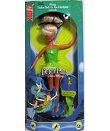 Mattel Disney Peter Pan Flying Tinker Bell Doll ~ 1993 - $42.56