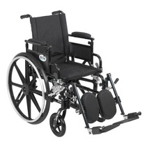 Drive Medical Viper Plus GT With Desk Arms and Leg Rests 22'' - $462.94