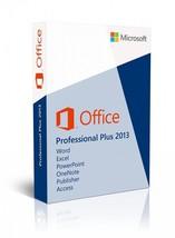 Microsoft Office 2013 Professional Plus 32/64 Bit - 1PC Lifetime License... - $12.98