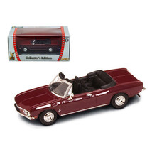 1969 Chevrolet Corvair Monza Burgundy 1/43 Diecast Model Car by Road Sig... - $17.27
