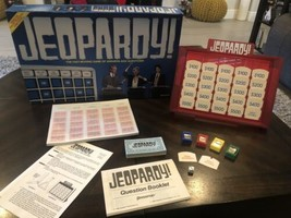 Vintage JEOPARDY Board Game Open but Never Played 1986 - $16.83
