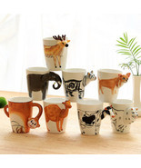 3D Stereo Dinosaur Cup Hand-painted Ceramic Cup - $24.01