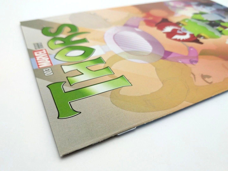 Thors #3 Frog Claw Machine Manga Variant Cover Marvel Comics 2015 Secret Wars