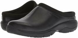 Merrell Mens Encore Rexton Slide Leather AC+ Mules & Clogs Shoes Black J95265 - $93.50