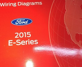 2015 Ford E Series E150 E250 Econoline Electrical Wiring Diagram Manual Oem - $18.81