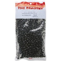 The Beadery 6 by 9mm Barrel Pony Bead in Black, 900-Piece - $8.98