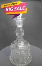 American Brilliant Period Cut Glass Bell Shaped ABP Antique Decanter  - $135.58