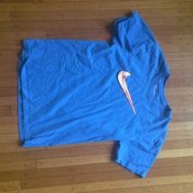 Nike Graphic Short Sleeve Swoosh T-Shirt Orange Men's XL - $9.49