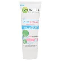 Garnier Skin Natural Pure Active Sensitive Anti-Acne Cleansing Gel 100 ml - $11.70