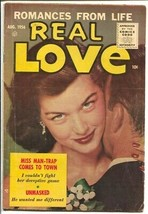 Real Love #75 1956-Ace-provocative photo cover-Unmasked-spicy art-VG - $69.84