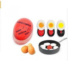 Silicone Egg Timer Control Soft Medium Hard Boiled Eggs Cooking Kitchen ... - $11.02
