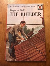 """1974-75 """"PEOPLE AT WORK - THE BUILDER"""" LADYBIRD BOOK (SERIES 606B - 18p ... - $2.61"""