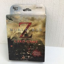"""World War Z 2013 Card Game  """"Survive the Deadly Zombie Pandemic""""- New in Box - $8.59"""