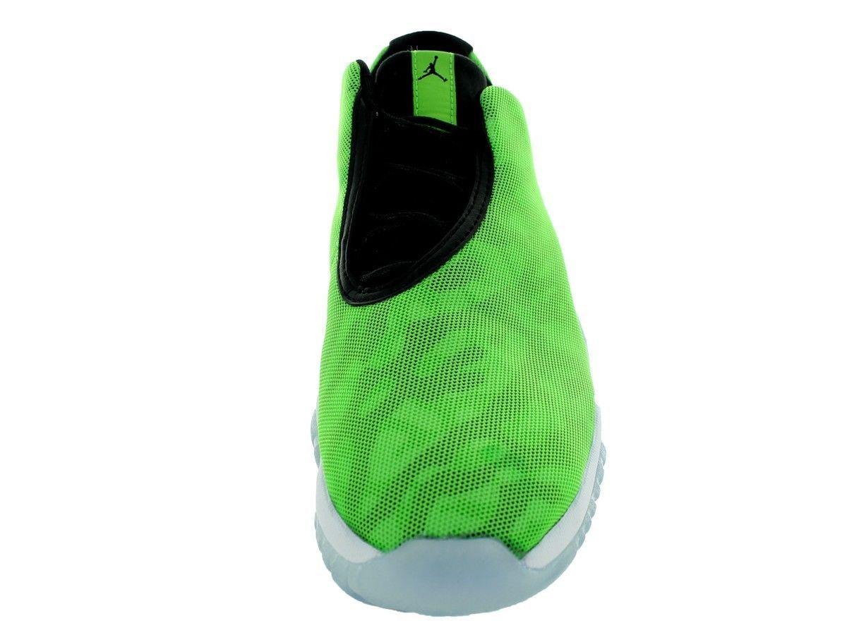 new product 8e054 9cf61 718948-302 AIR JORDAN FUTURE LOW GREEN BLACK WHITE MENS SNEAKERS Sz 10 XI  SOLE