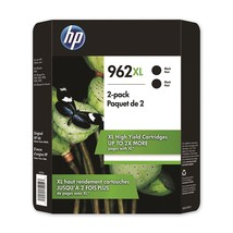 HP 962XL High Yield, Black Original Ink Cartridge, 2 Pack - $88.49