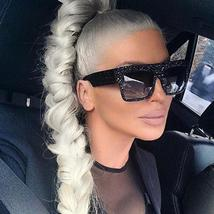 DPZ 2020 New Oversized Men luxury Brand designer women sunglasses Flat m... - $54.00