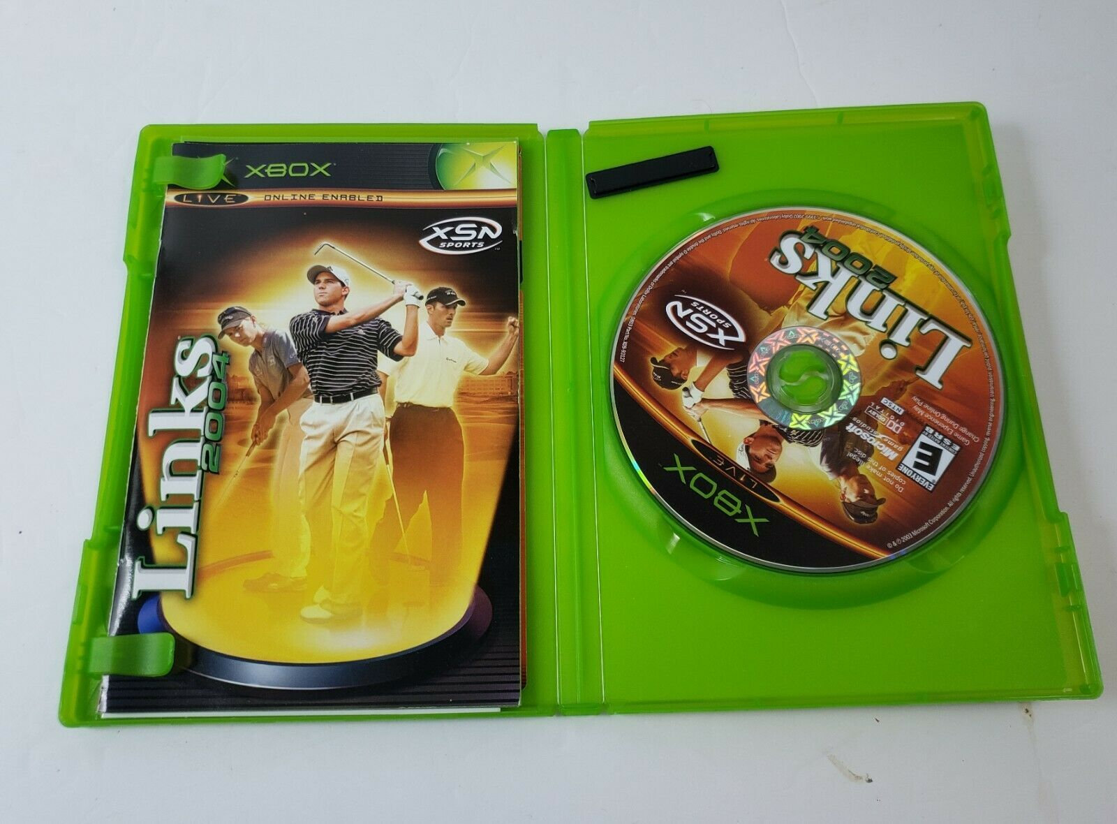 Links 2004 (Microsoft Xbox, 2003) - Complete w/ Game, Case & Manual - Tested image 3