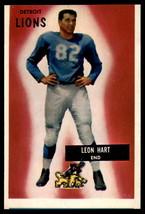 1955 Bowman #19 Leon Hart Lions EX Excellent  - $6.00