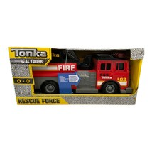 Tonka Rescue Force Fire Truck With 12-inch Ladder and Light & Sound AGE 3+  - $36.62