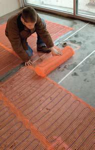 SunTouch Floor Heating Mats 2 x 5  10 sq ft