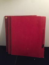 Vintage 50s rope bound scrapbook covers with some blank pages inside image 5