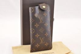 Louis Vuitton Monogram Etui A Lunettes Mm Glasses Case M66544 Lv Auth sa1763 - $450.00