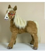 Butterscotch FurReal Friends Large Pony Sit Ride Horse Works w. Accessor... - $420.75