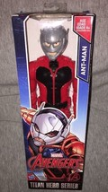 Marvel Avengers Titan Hero Series ANT-MAN 12 Inch Action Figure Hasbro F... - $17.81