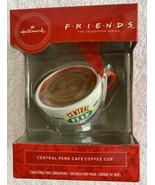 NEW 2019 Hallmark FRIENDS TV Show CENTRAL PERK Christmas Ornament Coffee... - $24.71