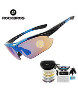Polarized Cycling Sun Glasses Outdoor Sports Bicycle Bike Sunglasses 29g... - $25.11